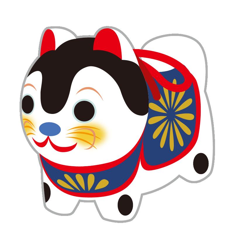 縁起物_張子犬