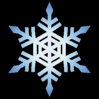 クリスマス_雪03_ブルー