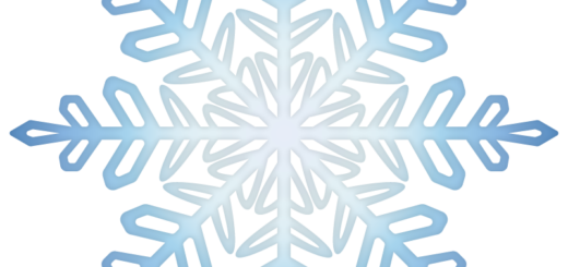クリスマス_雪08_ブルー