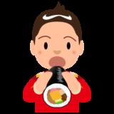 2月_恵方巻き_男性_赤_パク