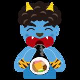 2月_恵方巻き_1本_青鬼_節分