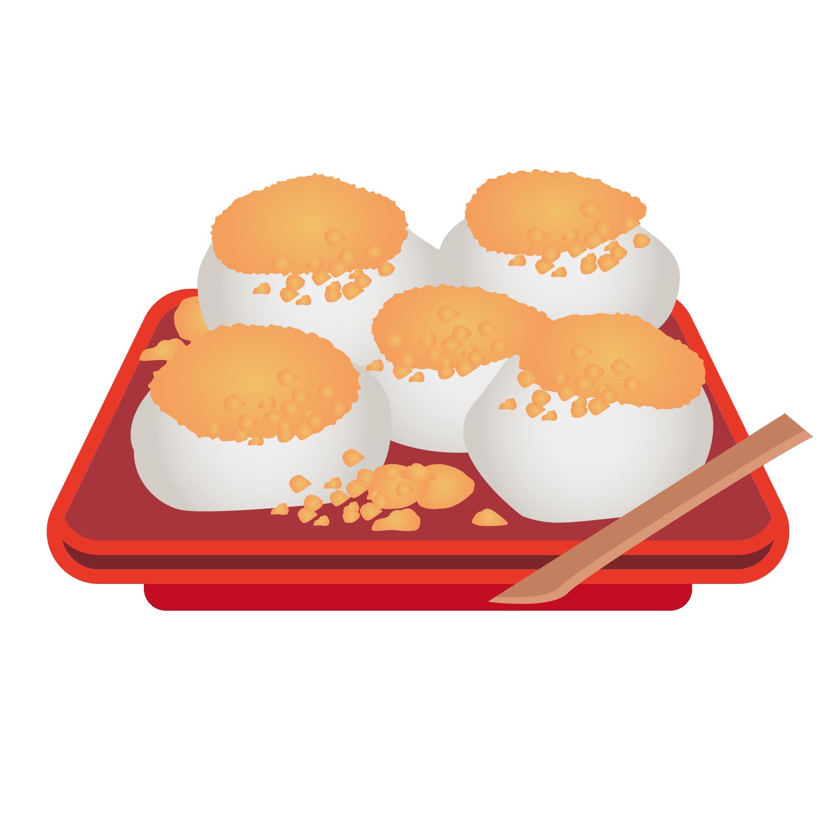 イラスト_食べ物_わらび餅_わらびもち