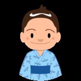 イラスト_浴衣_着物_夏_祭り_男の子