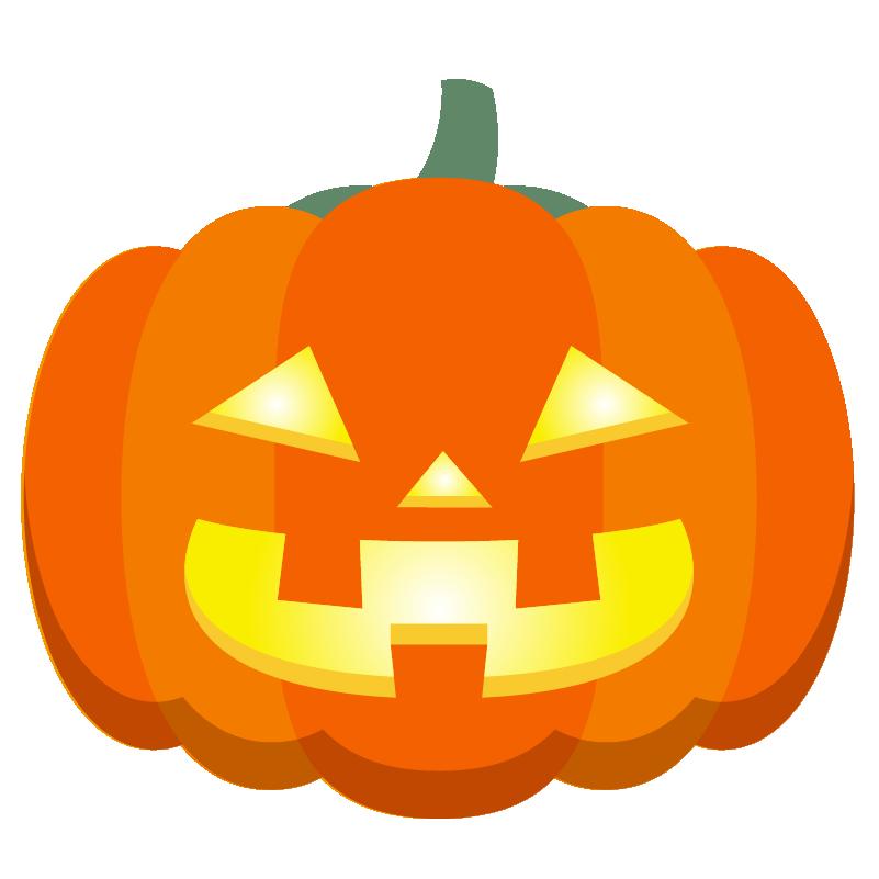 商用フリーイラスト_無料_10月_ハロウィンかぼちゃ_ランタン_halloween