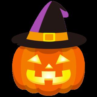 商用フリーイラスト_無料_10月_ハロウィンかぼちゃ_ランタン_帽子_halloween