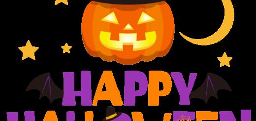 商用フリーイラスト_無料_10月_ハロウィン文字_happy halloween,Trick or Treat