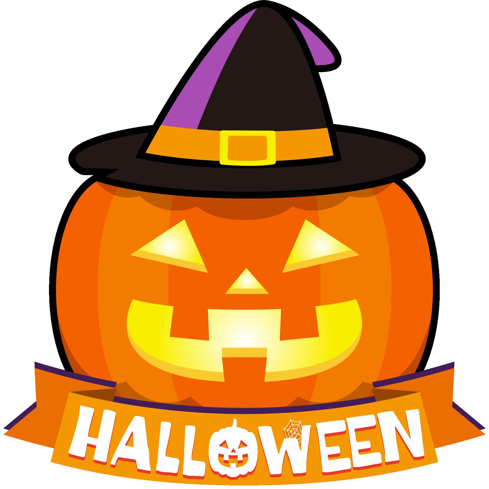 商用フリーイラスト_無料_10月_ハロウィン_かぼちゃ_ジャックオーランタン頭_コスプレ_halloween_オーナメント