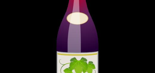 商用フリーイラスト_11月_ボジョレーヌーボー_赤_ボトル_Beaujolais Nouveau