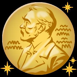 商用フリーイラスト_ノーベル賞_メダル_キラキラ