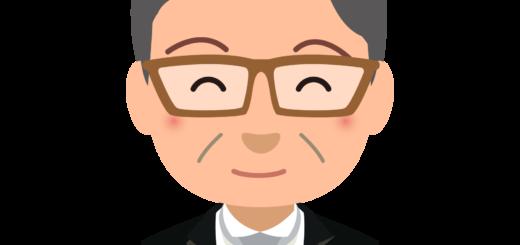 商用フリーイラスト_表彰_燕尾服_男性A笑顔_バストアップ