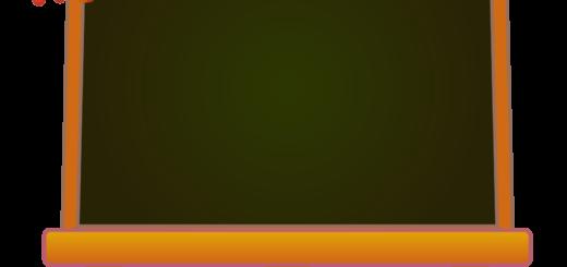 商用フリーイラスト_芸術の秋_イーゼル_キャンバス横02_文字_autumn_黒板