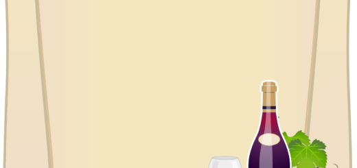 商用フリーイラスト無料_11月_ボジョレーヌーボ_ワイン_赤_Beaujolais Nouveau_フレーム_紙_pop02