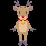 商用フリー・無料イラスト_クリスマス_トナカイ(Christmas/reindeer)03