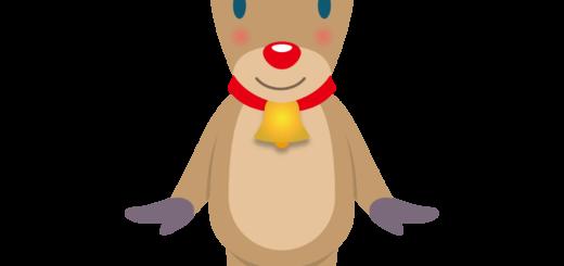 商用フリー・無料イラスト_クリスマス_トナカイ(Christmas/reindeer)04