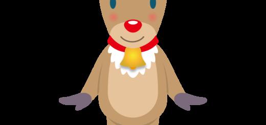 商用フリー・無料イラスト_クリスマス_トナカイ(Christmas/reindeer)05