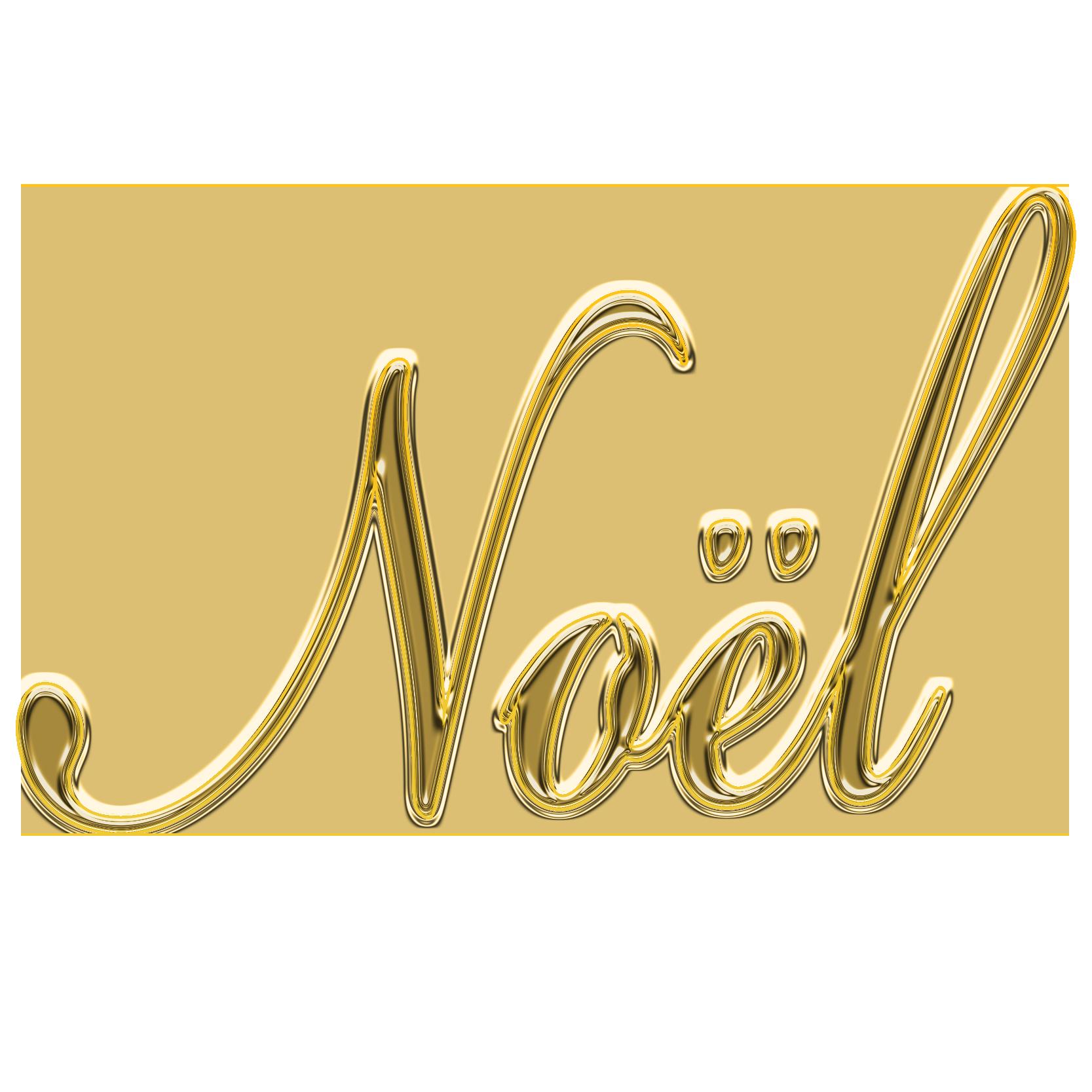 商用フリー・無料イラスト_クリスマス_ノエル(noel)文字