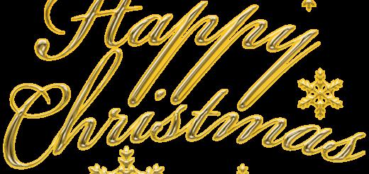 商用フリー・無料イラスト_クリスマス_happychristmas文字_雪