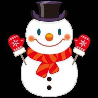 商用フリー・無料イラスト_クリスマス_スノーマン(雪だるま)_snowman_004