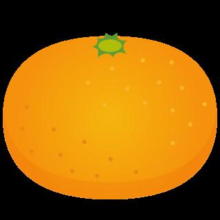 商用フリー・無料イラスト_みかん(Mandarin orange)02