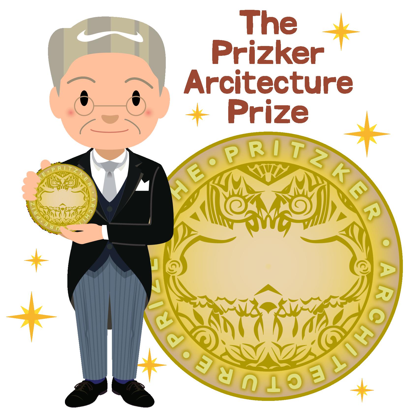 商用フリー無料イラスト_プリツカー賞_表彰_燕尾服_男性D_笑顔_The Pritzker Architecture Prize_022