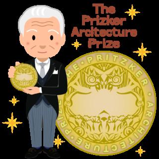商用フリー無料イラスト_プリツカー賞_表彰_燕尾服_男性E_The Pritzker Architecture Prize_026
