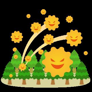 商用フリー・無料イラスト_杉(すぎ)花粉症_cedar pollen allergy007