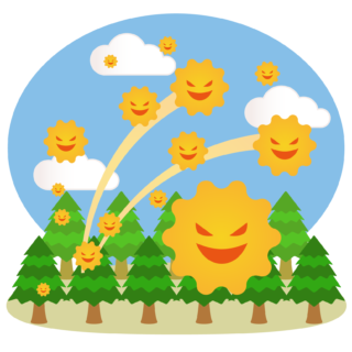 商用フリー・無料イラスト_杉(すぎ)花粉症_cedar pollen allergy009