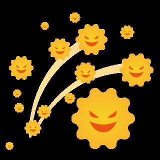 商用フリー・無料イラスト_杉(すぎ)花粉症_cedar pollen allergy010