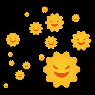 商用フリー・無料イラスト_杉(すぎ)花粉症_cedar pollen allergy011