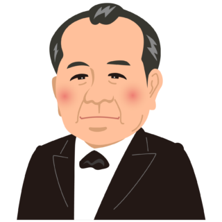 商用フリー・無料イラスト_渋沢栄一_Eiichi Shibusawa01