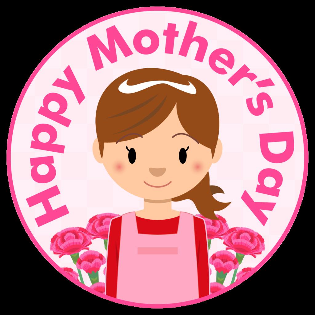 商用フリー・無料イラスト_5月母の日_お母さん_カーネーション_mothersday001