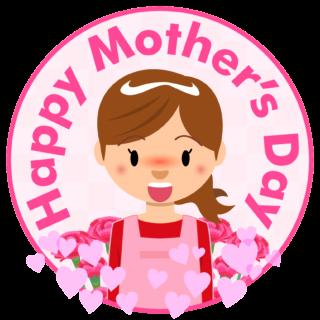 商用フリー・無料イラスト_5月母の日_お母さん_カーネーション_mothersday003