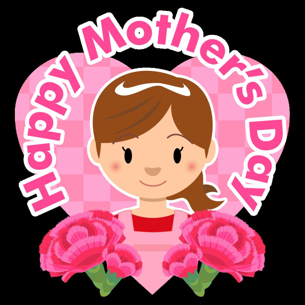商用フリー・無料イラスト_5月母の日_お母さん_カーネーション_mothersday004