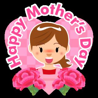 商用フリー・無料イラスト_5月母の日_お母さん_カーネーション_mothersday005