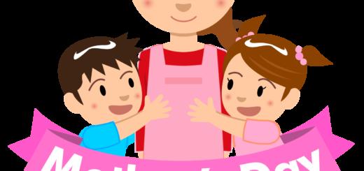 商用フリー・無料イラスト_5月母の日_子供とお母さん_mothersday007