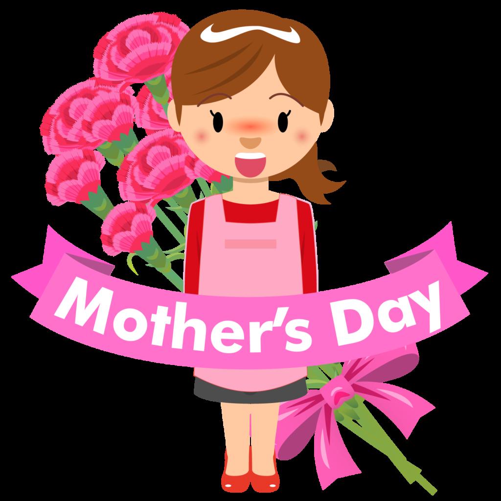 商用フリー・無料イラスト_5月母の日_お母さん_カーネーション_mothersday010