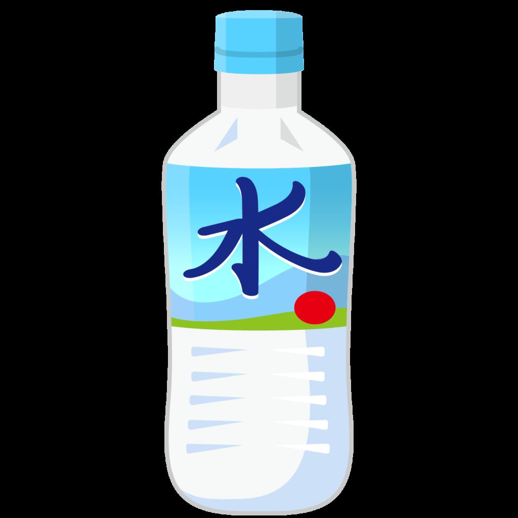 商用フリー・無料イラスト_ミネラルウォーター_ペットボトル_water
