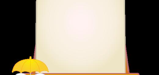 商用フリー・無料イラスト_あじさいの花(紫陽花)イーゼル(キャンバス)_6gatsu07