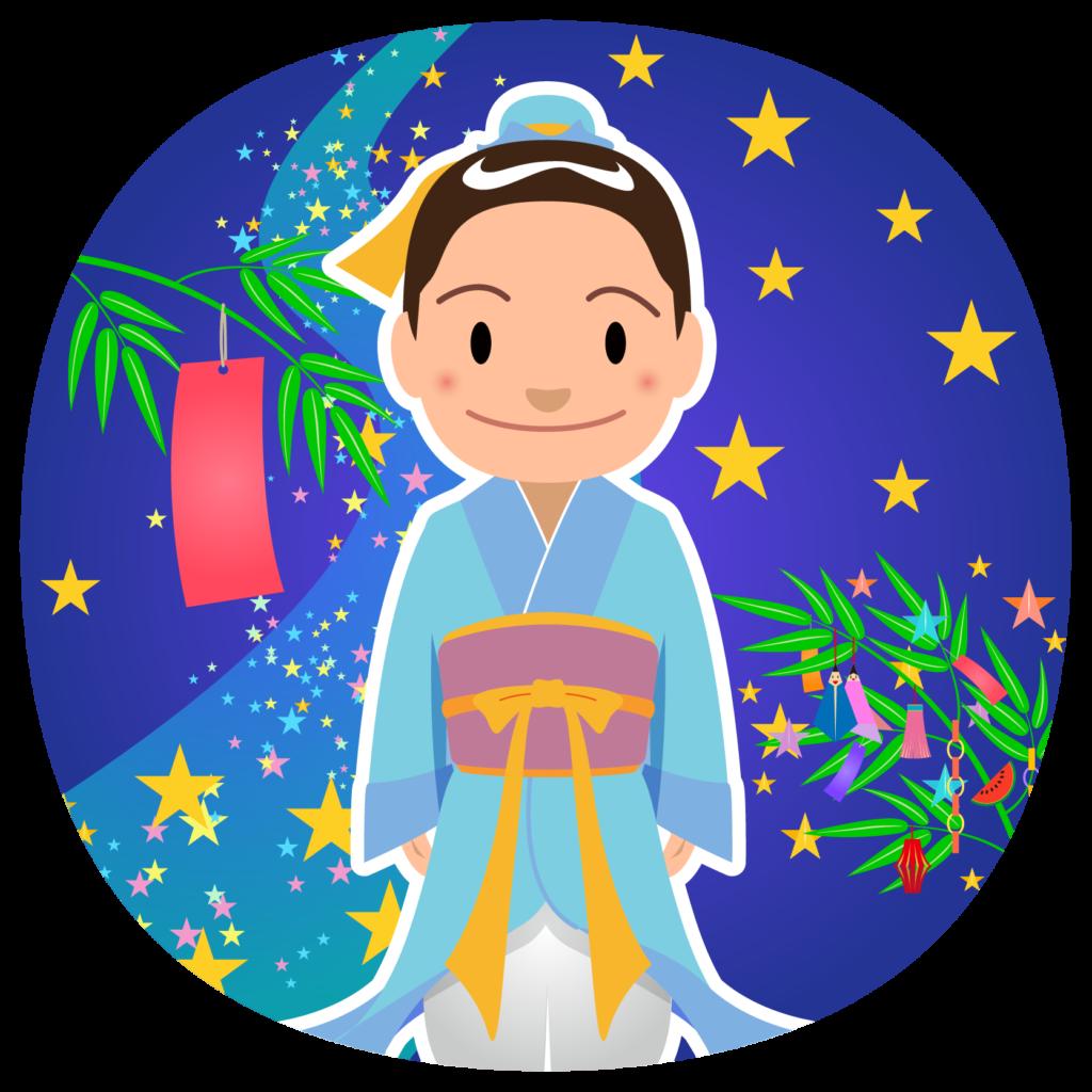 商用フリー・無料イラスト_七夕_彦星(牽牛)_七月_july_hikoboshi_tanabata031