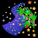 商用フリー・無料イラスト_七夕飾り_短冊_天の川_七月_july_tanabata038