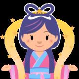 商用フリー・無料イラスト_七夕_織姫(織女)_七月_july_tanabata048