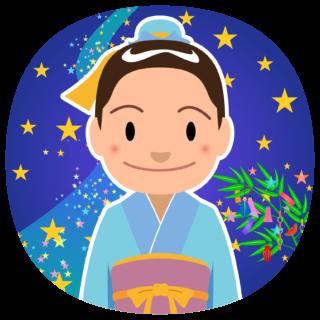 商用フリー・無料イラスト_七夕飾り_彦星(牽牛)_七月_july_tanabata051