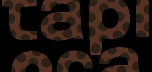 商用フリー・無料イラスト_タピオカの文字_tapioca011