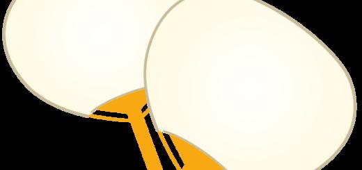 商用フリー・無料イラスト_お祭りうちわ・団扇(白無地)_uchiwa018