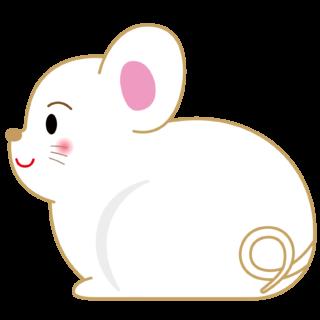商用フリー・無料イラスト_干支_年賀_子年(鼠/ ねずみどし)_ne001