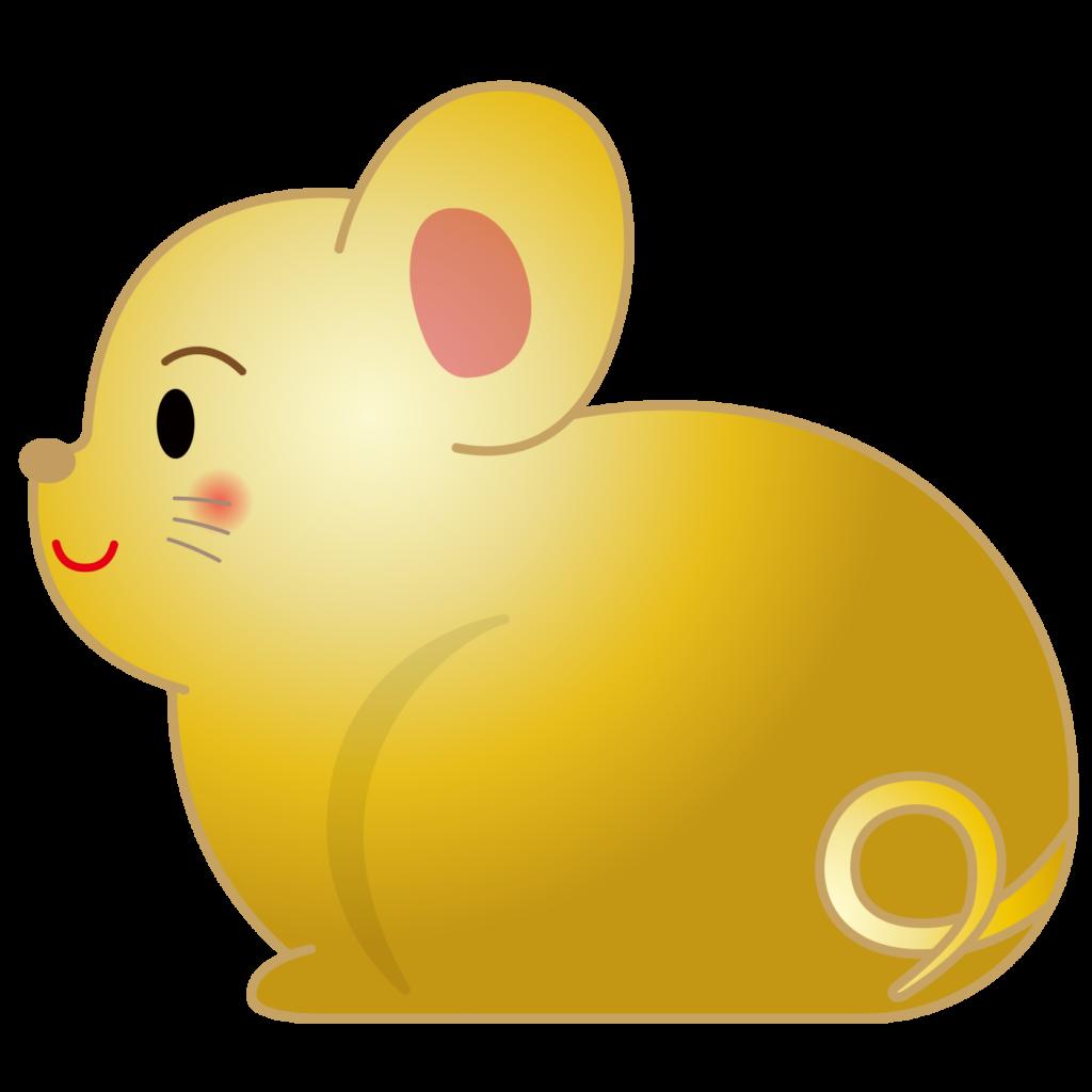 商用フリー・無料イラスト_干支_年賀_子年(鼠・ねどし・ ねずみどし)_ne004