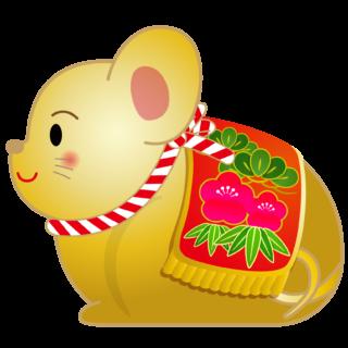 商用フリー・無料イラスト_干支_年賀_子年(鼠・ねどし・ ねずみどし)_ne006