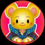 商用フリー・無料イラスト_干支_年賀_子年(鼠・ねどし・ ねずみどし)_ne036
