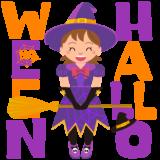商用フリーイラスト_無料_10月_ハロウィン_女の子_魔女_コスプレ_witch_halloween086