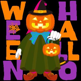 商用フリーイラスト_無料_10月_ハロウィン_ジャックオーランタン_かぼちゃ_コスプレ_witch_halloween089